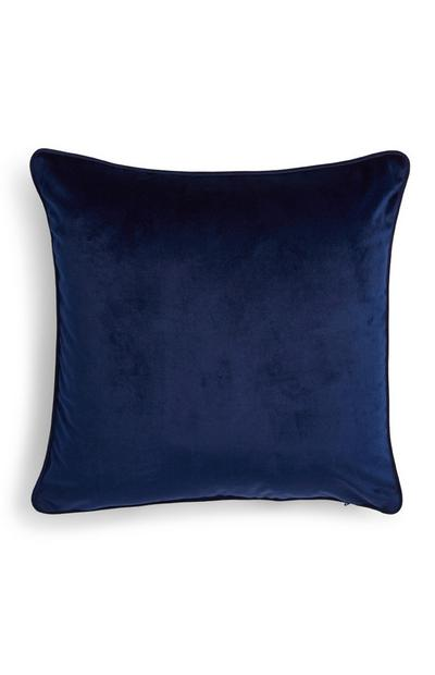 Navy Velvet Cushion Cover