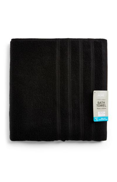 Black Value Bath Towel