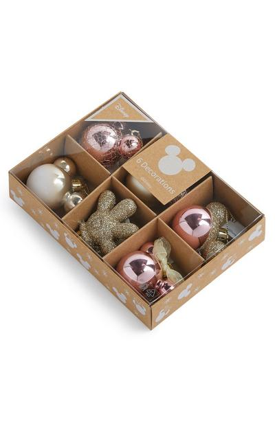 Minnie Mouse Baubles 6 pack