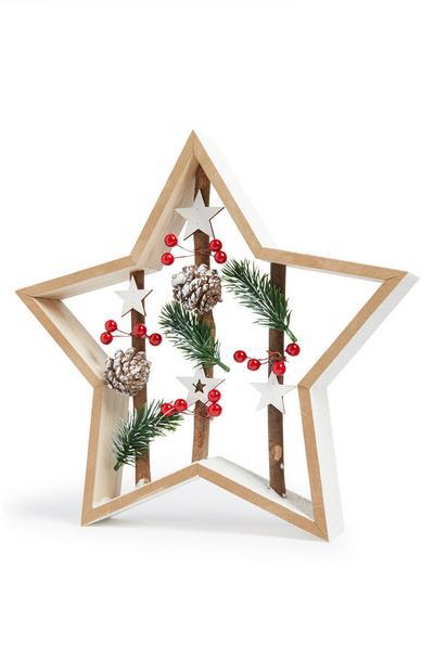 Wooden Standing Star