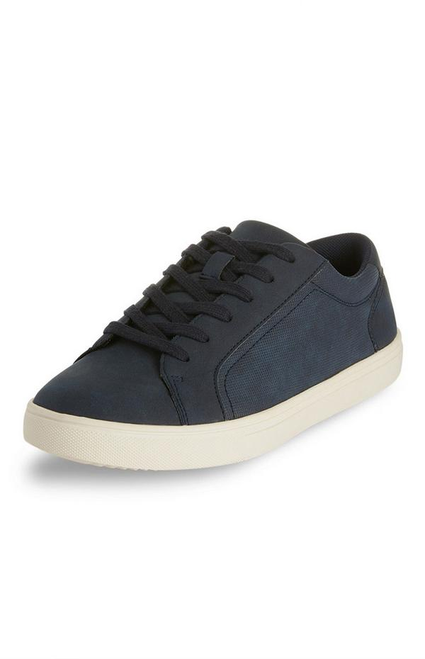 Black Casual Low Top Trainers