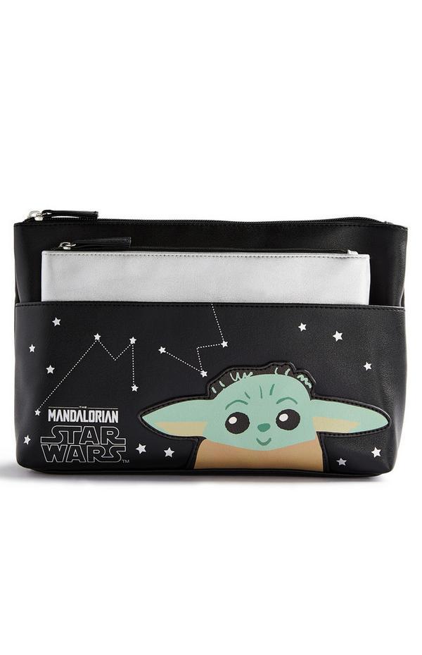 Trousse de maquillage et porte-monnaie Bébé Yoda