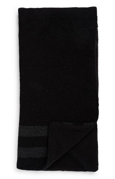 Écharpe noire