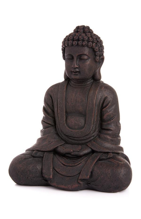 Large Wooden Buddha