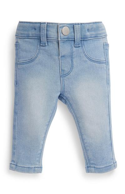 Baby Girl Blue Denim Jeans