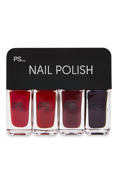 Pack de 4 esmaltes de uñas de PS