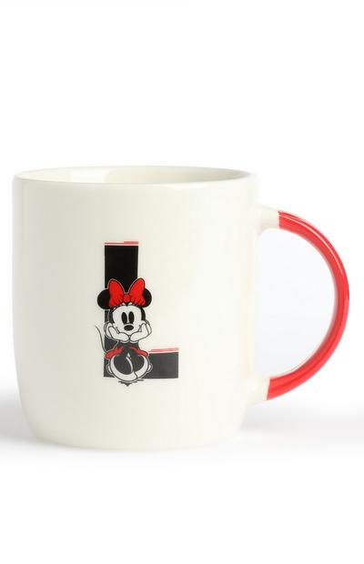 Mickey And Minnie Alphabet Mug