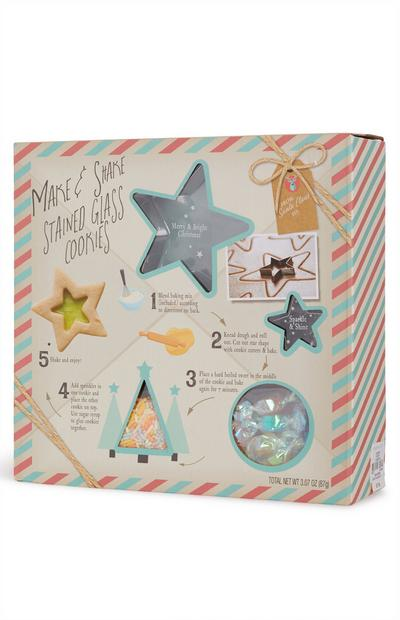 Make And Shake Stained Glass Cookie Kit