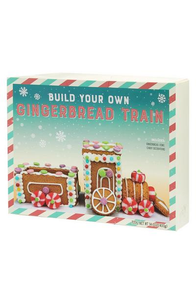 Build Your Own Gingerbread Train