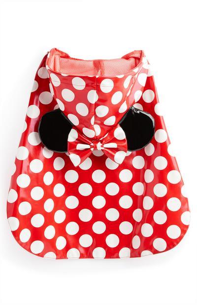 Minnie Mouse Pet Rain Jacket