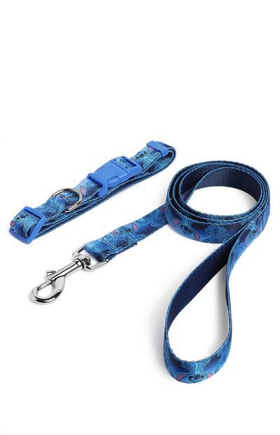 Stitch Pet Lead And Collar