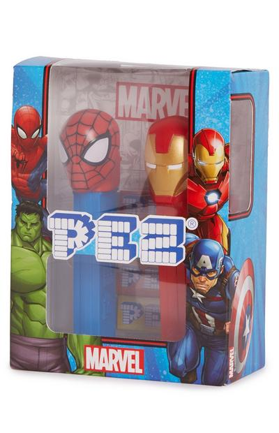 Pack 2 dispensadores Pez Marvel