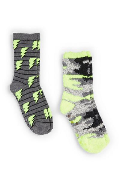 Boy's Camo Cozy Socks