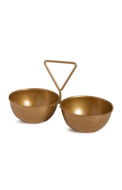 Gold Set Of Bowls