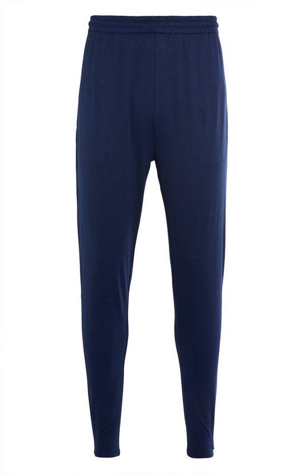 Marineblaue Super-Stretch-Jogginghose