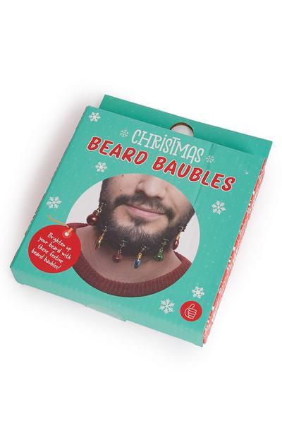 Lot de 12 boules pour barbe