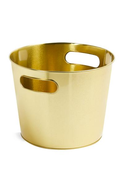 Cabinet Gold Wine Bucket