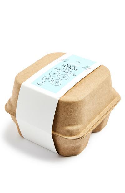 Conjunto oferta banho efervescente caixa ovos