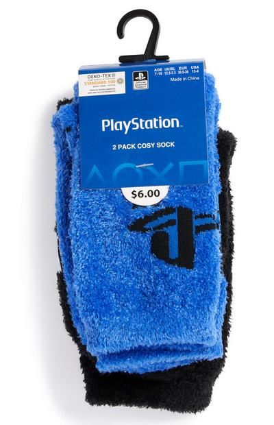 2-Pack Boy's PlayStation Cozy Socks