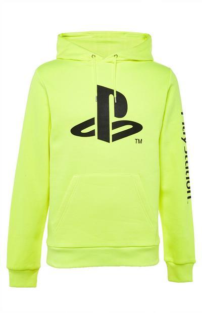 Gele Playstation-hoodie