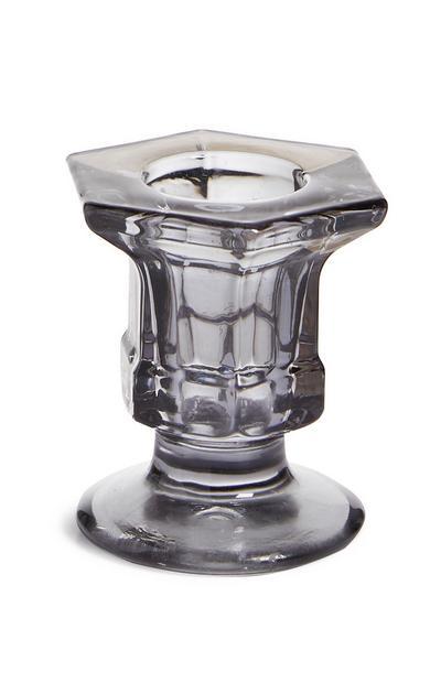 Dinner-Kerzenhalter aus Glas