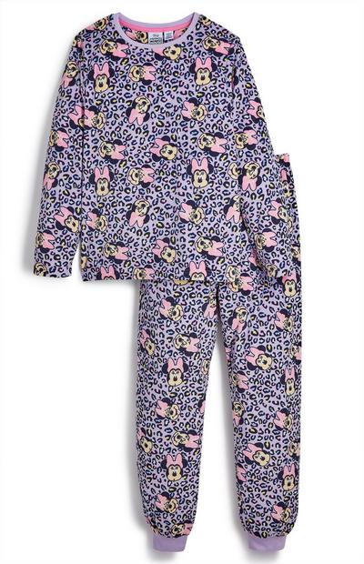 Pyjama rose Disney Minnie Mouse ado
