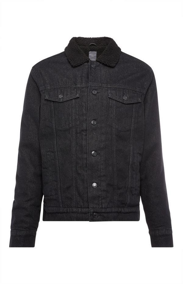 Black Borg Denim Jacket