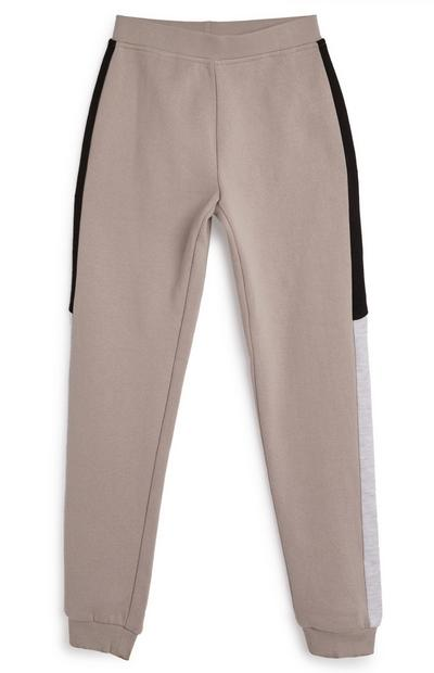 Older Girl Taupe Co Ord Joggers