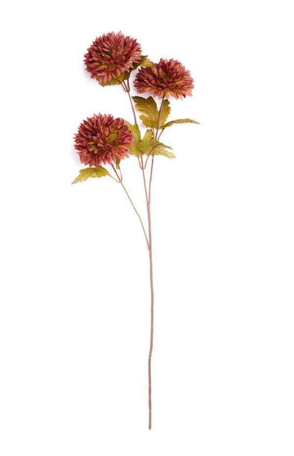 Einzelner Deko-Zweig mit Blüten