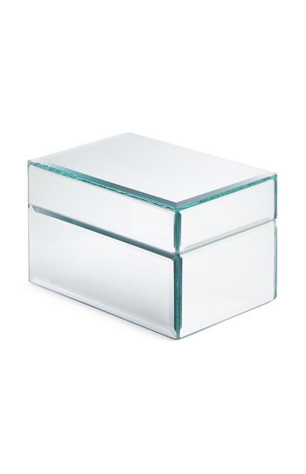 Srebrna škatla za nakit