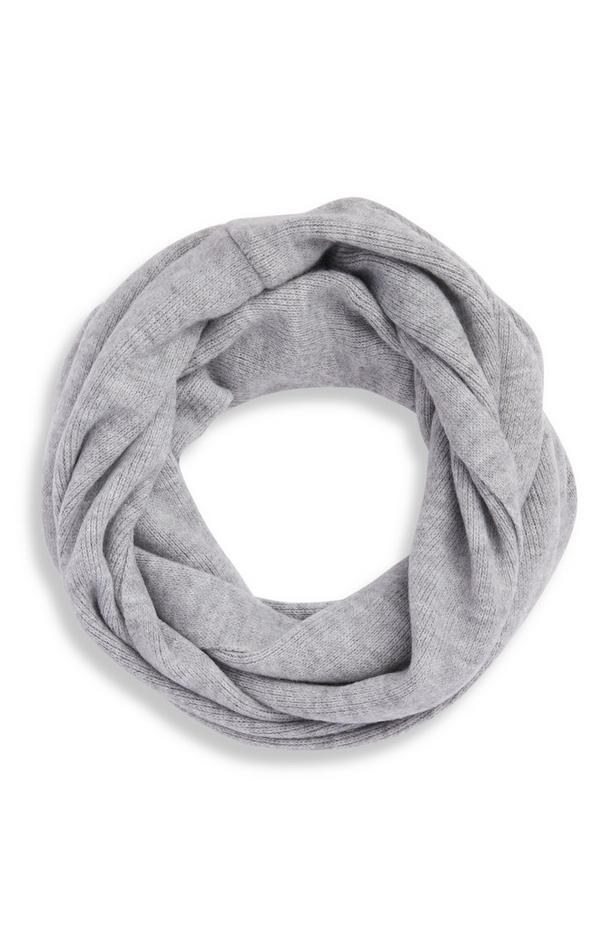 Gray Supersoft Infinity Scarf