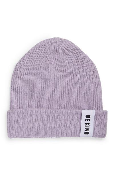 Gray Sustainable Ribbed Beanie