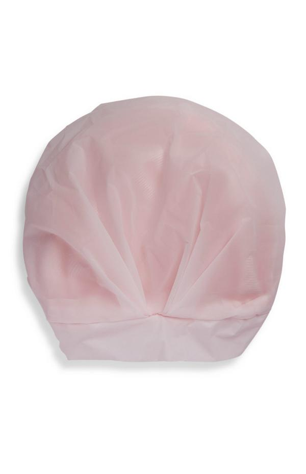 Day Dreamer Pink Turban Shower Cap