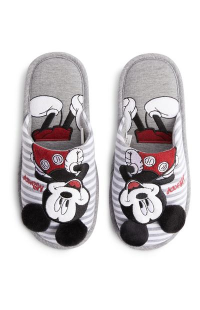 Chinelos Disney Mickey Mouse cinzento
