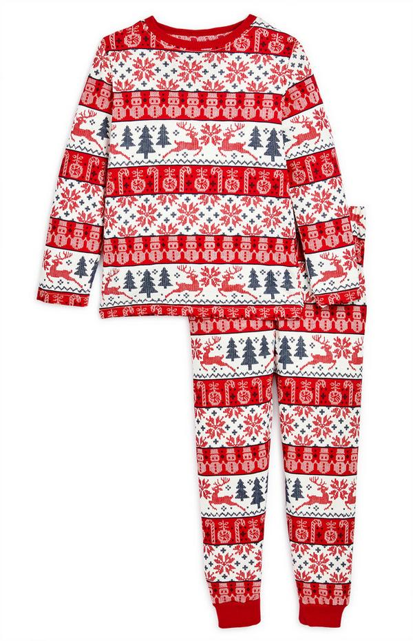 Pyjama familial à motif Fair Isle