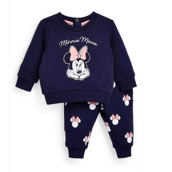 """Marineblauer, 2-teiliger """"Disney Minnie Maus"""" Freizeitanzug für Babys (M)"""