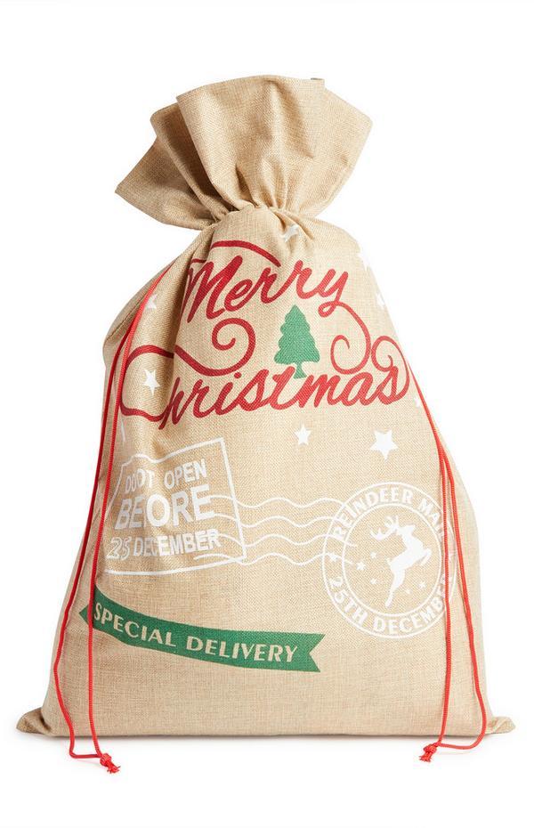 Weihnachtsmann-Geschenkesack