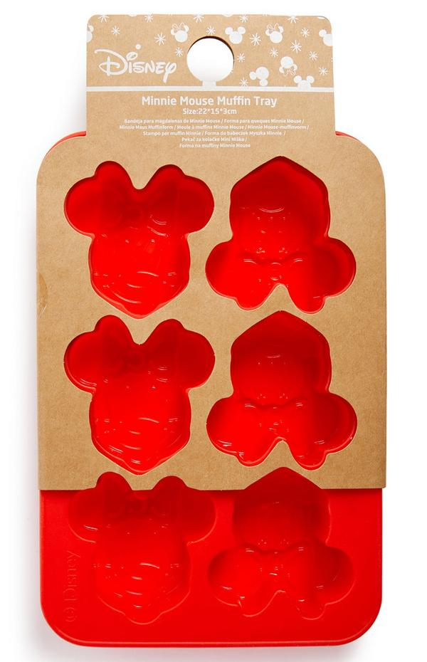 Muffinplaat in Mickey Mouse-vorm