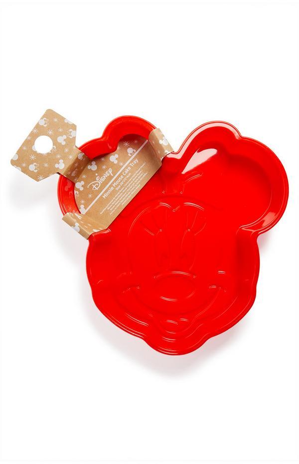 Molde metálico para tartas de Mickey Mouse