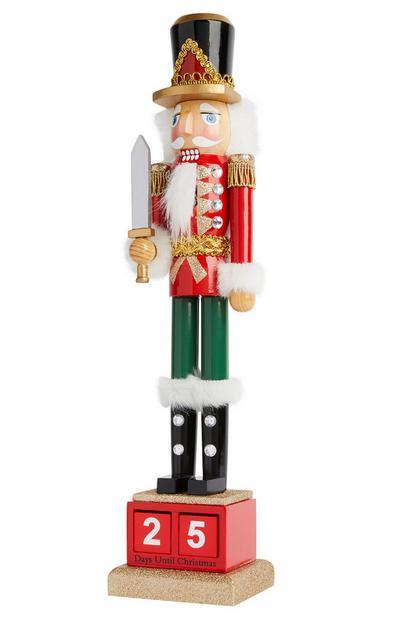 The Nutcracker Christmas Countdown Decoration