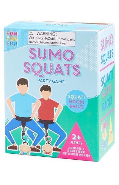 Juego de sentadillas de sumo