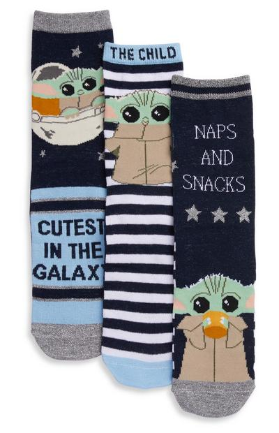 """Star Wars The Child"" Socken, 3er-Pack"