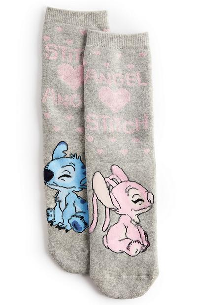 Stitch And Angel Thermal Socks