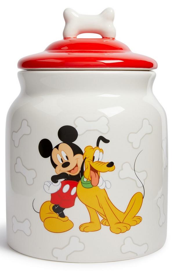 Tarro de golosinas para perro de Mickey Mouse
