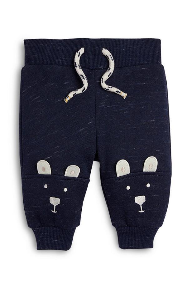 Jogginghose mit Eisbär-Design für Babys (J)