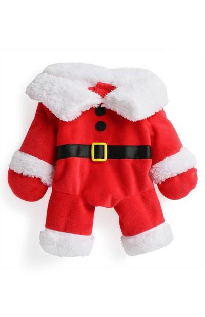 Red Pet Santa Costume