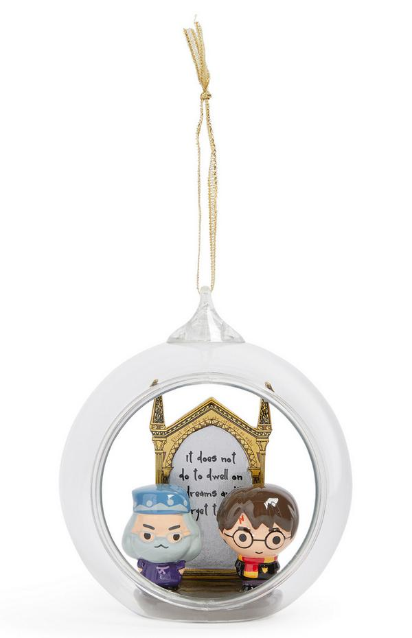 Harry Potter Glass Bauble
