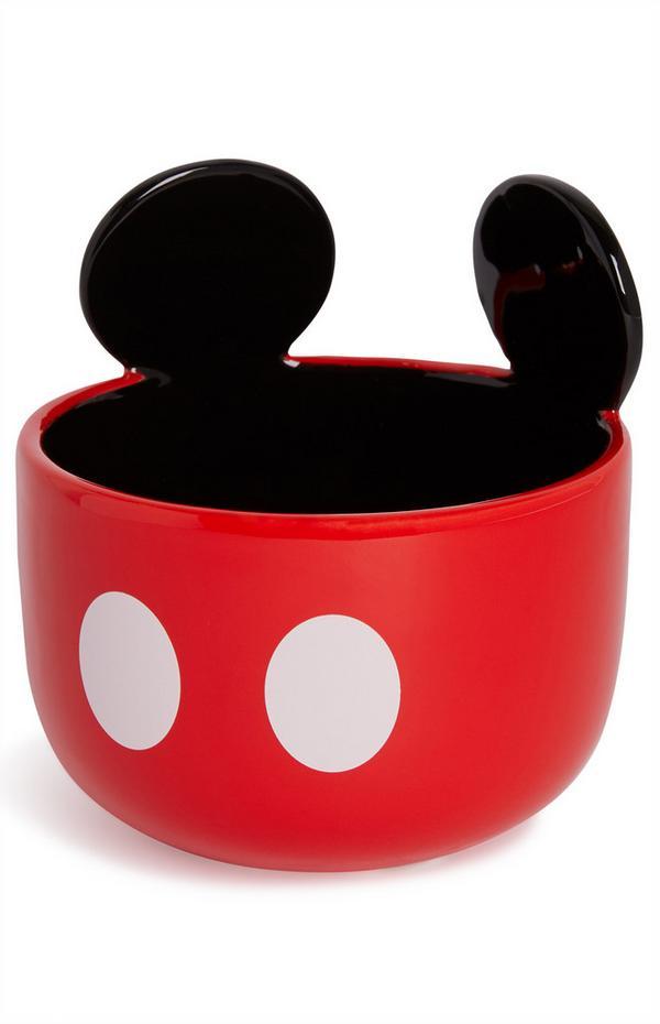 Tigela cerâmica orelhas Mickey Mouse