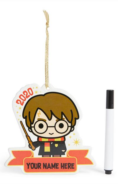 Harry Potter Personalisation Christmas Decoration