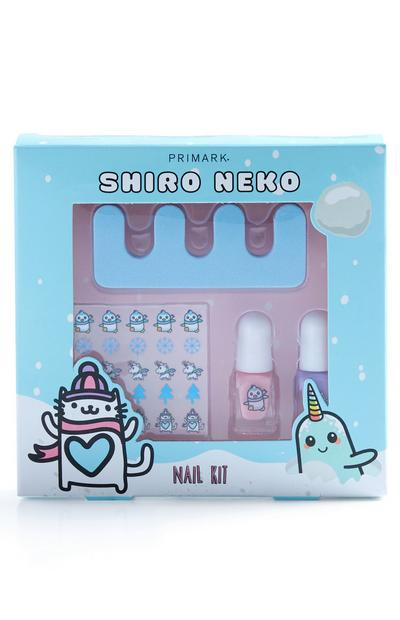 Shiro Neko Nail Art Set
